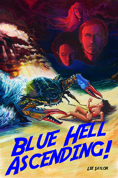 cover of my book,  'Blue Hell Ascending'